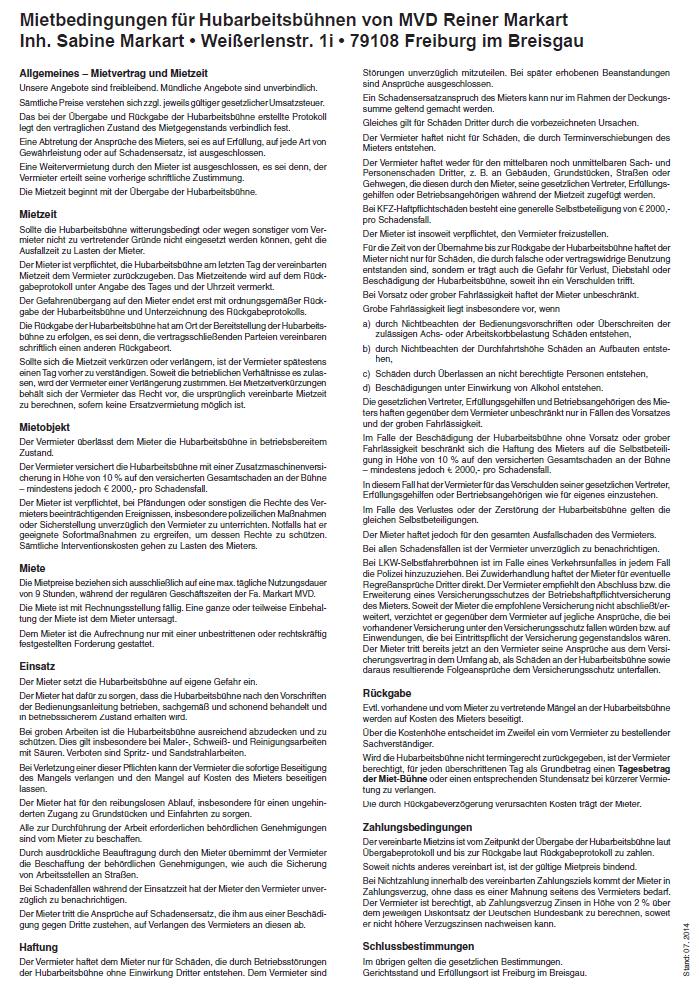 Mietbedingungen-Markart-MVD-Hubarbeitsbuehnen